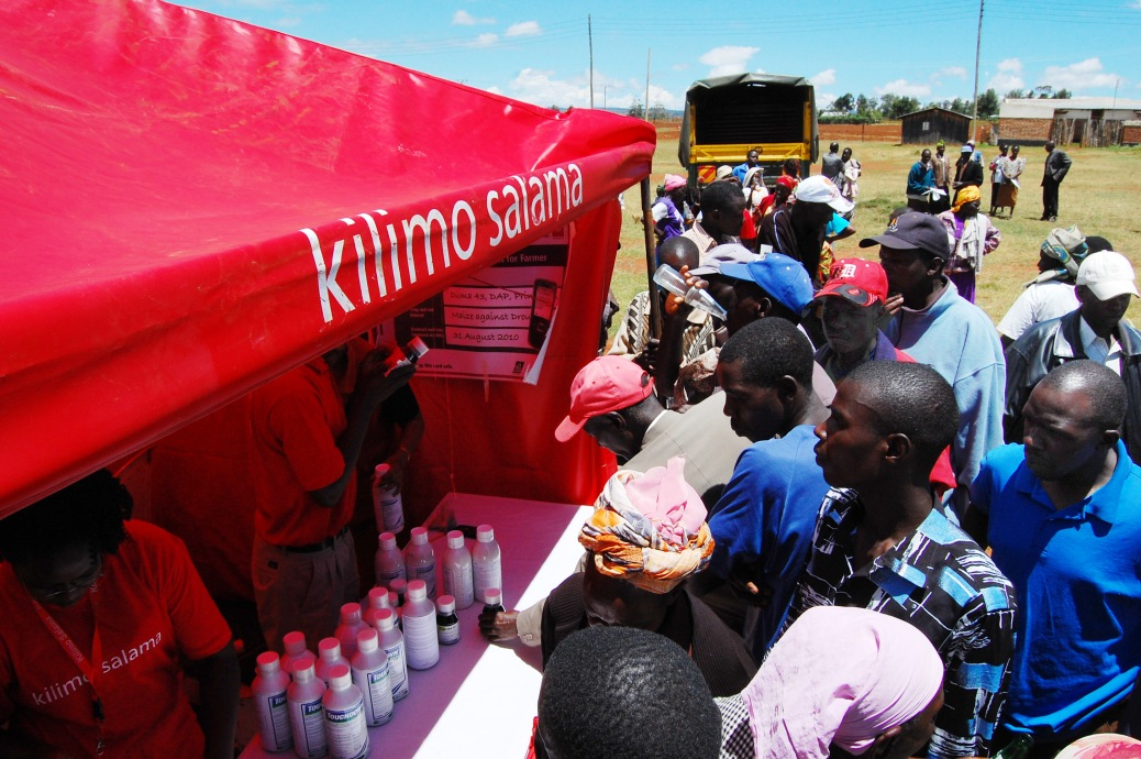 Kilimo Salama Demonstration Tent