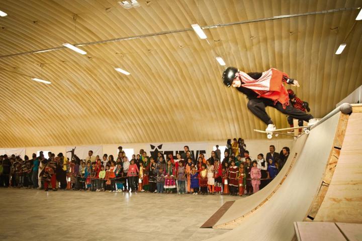 Skateboarding in Afghanistan
