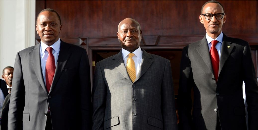 Museveni Kenyatta Kagame