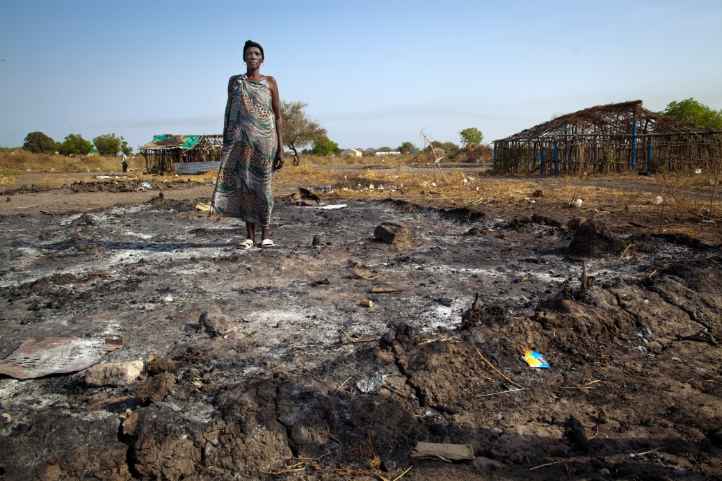 South Sudan tribal crashes